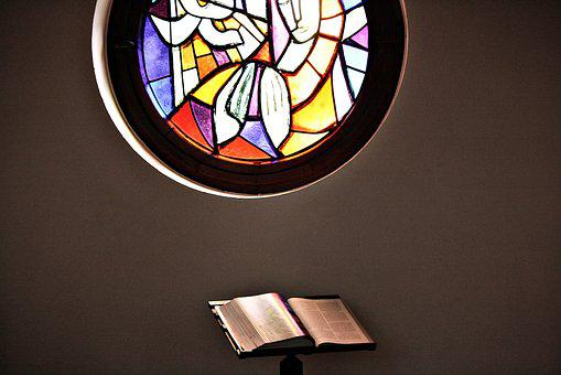 Church Window, Church, Bible, Prayer, Contemplative
