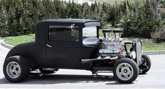 Oldtimer, Hot Rod, Classic Car, Vintage, Separate Car