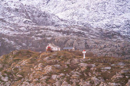 Norway, Coast, Mountain, Architecture, Scandinavia
