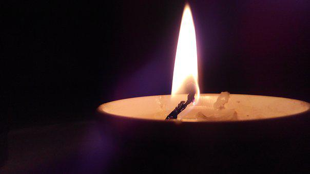 Candle, The Night, Dinner, Light, Light A Candle