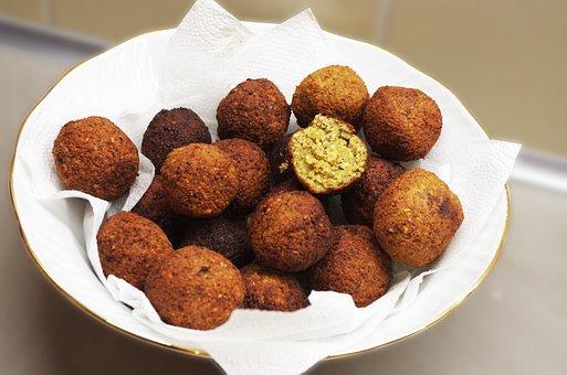 Falafel, Middle East, Chickpeas