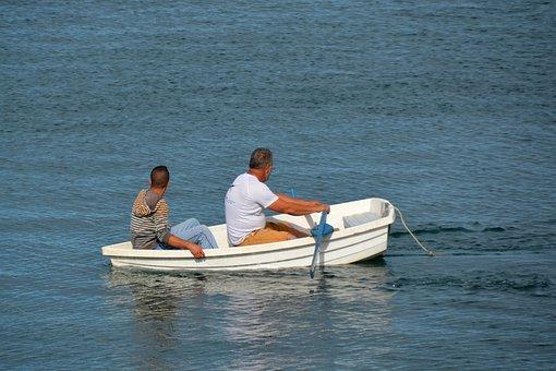 Boat, Fisherman, Sea, Fishing, Fishing Boat, Lake, Fish