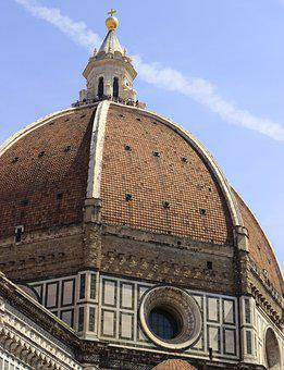 Florence, Brunelleschi, Italy, Architecture, Cathedral