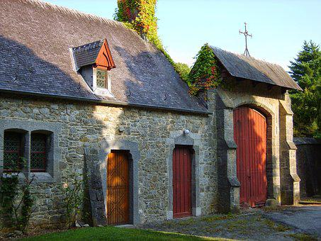 House, Ardennes, Old, Annevoie, Cottage