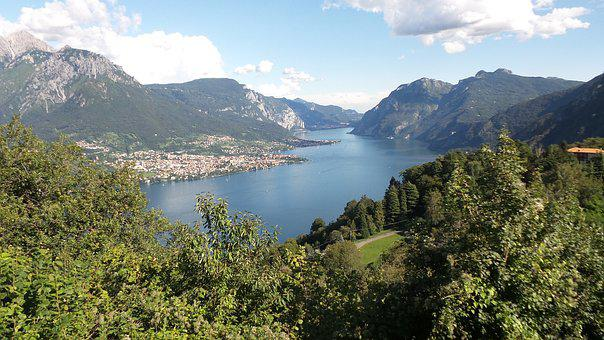 Lake Como, Italy, Alpine