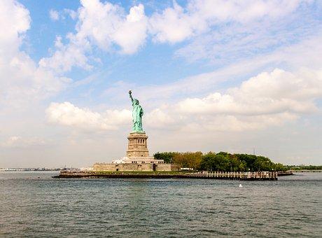 America, Skyscrapers, Landscape, Manhattan, Metropolis