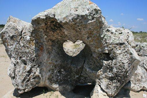 Stone, Nature, Heart, Love, Stove, Stone Patterns