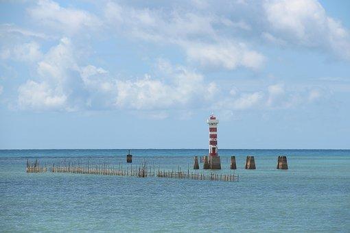 Lighthouse, Green Tip, Maceió, Alagoas