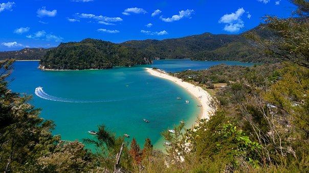 Vacations, Beautiful Beach, New Zealand, Memory
