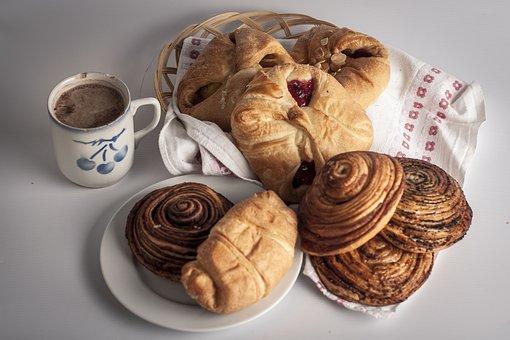 Bakery, Products, Pie, Kalács, Csiga, Snail, Cocoa