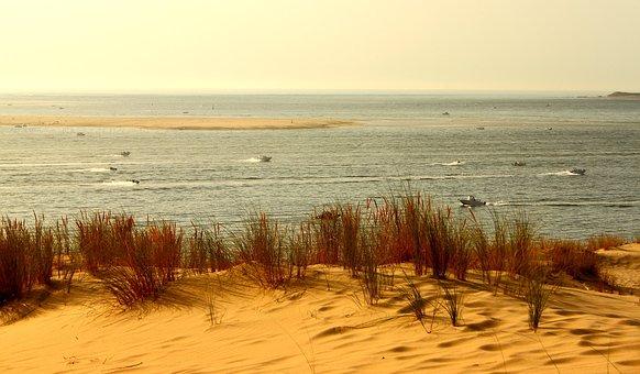 Dune You Pilat, Sand, Sea, Sand Dune, Atlantic Coast