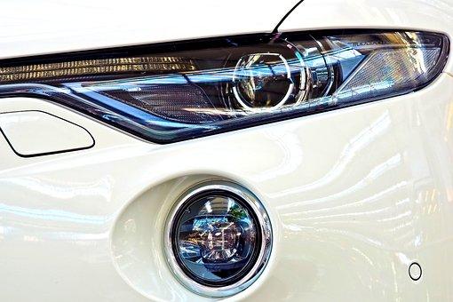 Auto, Spotlight, Lamp, Light, Car Headlights