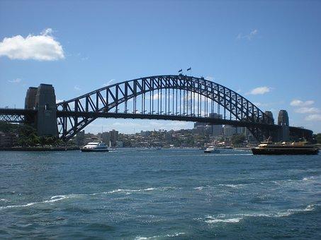 Sydney, Harbour, Bridge