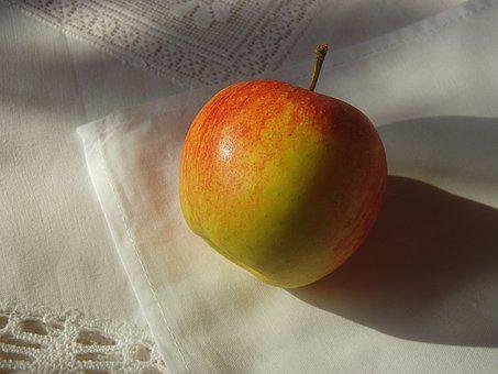 Apple, Tablecloth, Table Decorations, Mood