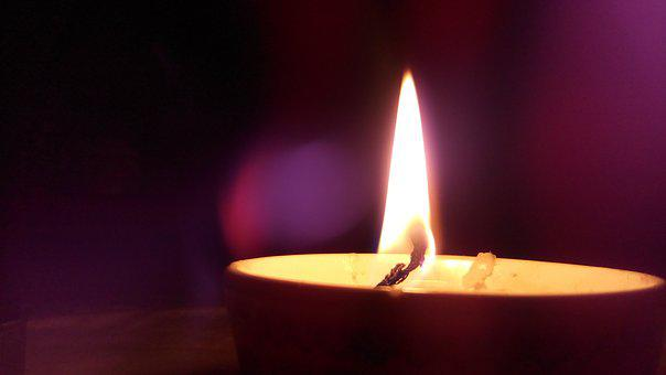 Dinner, Light, Light A Candle, Candle, The Night