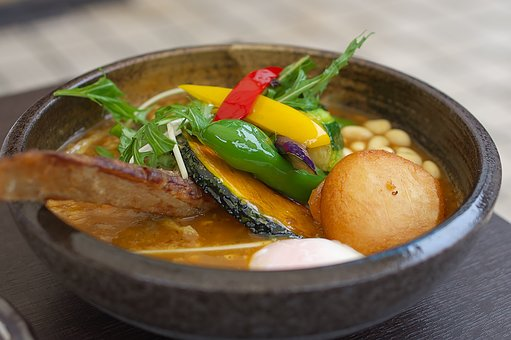 Soup Curry, Vegetables, Curry Samurai
