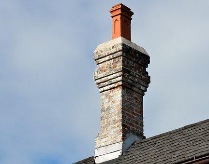 Vintage Chimney, Retro, Old, Structure, Building