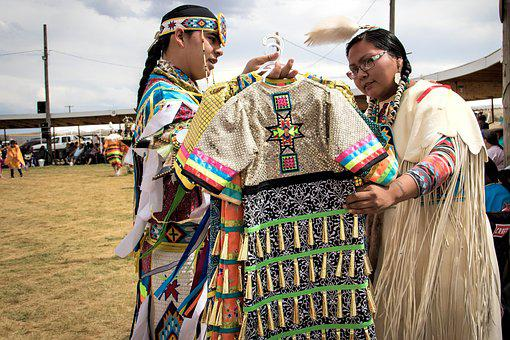 Pow Wow, Arapaho, Indian, American Native, Dress