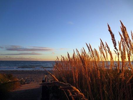 Baltic Sea, Beach, Winter, Timmendorfer Beach