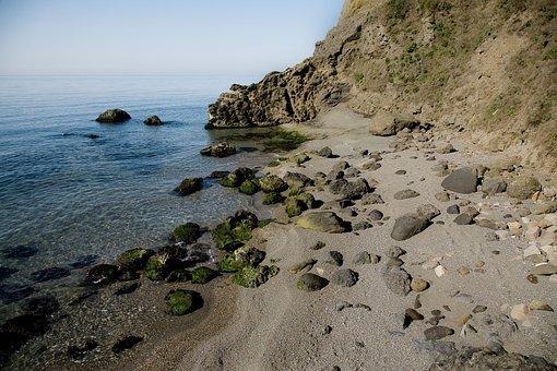 Coastal, Beach, Landscape, Nature, Turkey, Stone