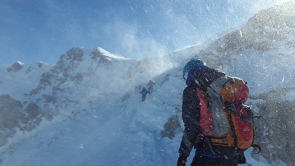 Mountaineer, Forward, Blizzard, Stormy, Risk