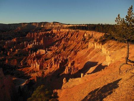Bryce Canyon, National Park, Sunrise, Usa