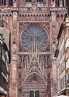 Strasbourg, Münster, Main Portal, Cathedral