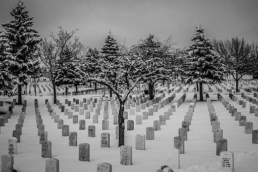 Snow, Cemetery, National Gravesite