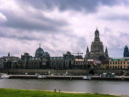 Dresden, Historically, Saxony, City, Architecture, Elbe