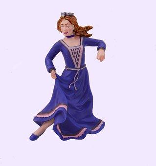 Dancing, Princess, Dancer, Dance, Dress, Gown, Costume