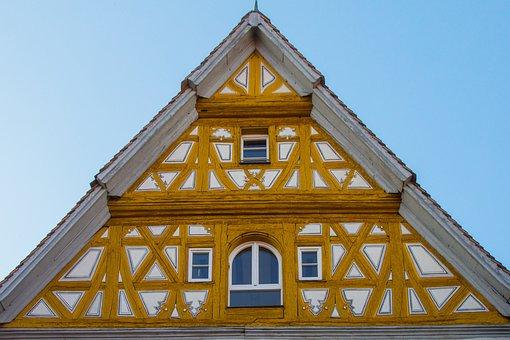 Truss, Middle Ages, Fachwerkhaus, Medieval Fachwerk