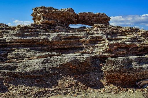 Erosion, Rock, Formation, Geology, Sandstone, Ormidhia