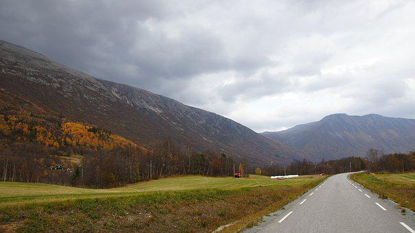 Storli Valley, Autumn, Fall Colors, Landscape