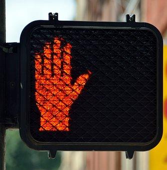 Crossing Signal, Light, Street, Safety, Traffic, Sign