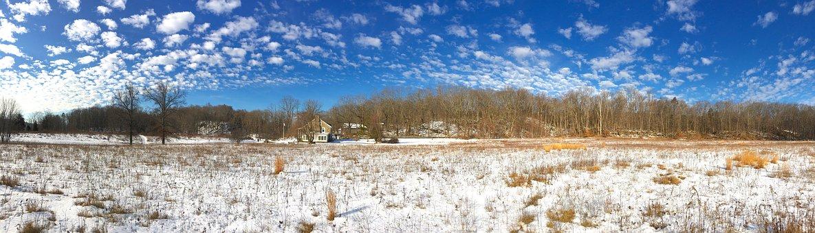 Snow, Landscape, Sky, Winter, Cold, Season, Nature