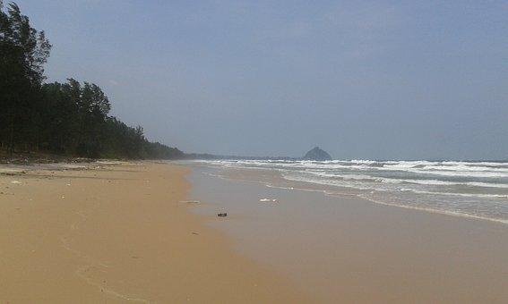 Beach, Empty, Natural, Sunny, Thailand, Sea, Paradise