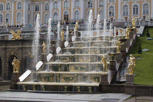 St Peterburg, Russia, Peterhof