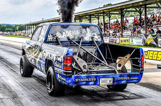 Diesel, Drag, Racing, Truck, Event, Race, Track