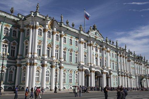 St Peterburg, Russia, Ermitage