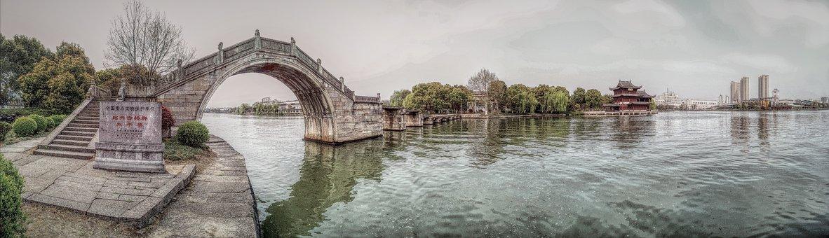 Shaoxing, Bridge, Canal