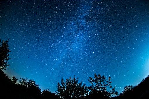 Milky Way, Starry Sky, Sky, Star, Night Sky, Space