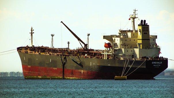 Ship, Tanker, Sea, Vessel, Oil, Commercial, Nautical