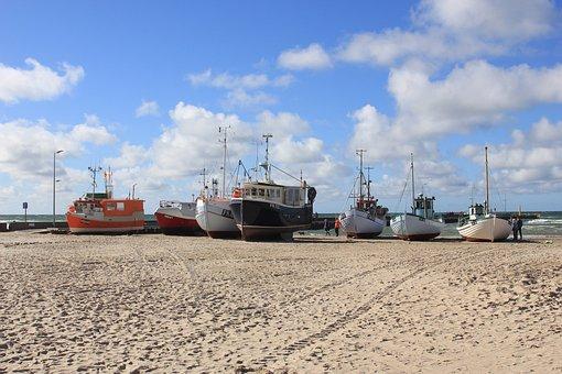Boot, Holiday, Beach, Water, Denmark, Travel