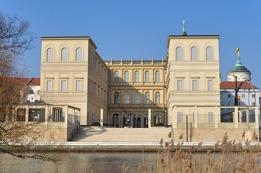 Museum, Castle, Barberini, Potsdam, Havel, Architecture