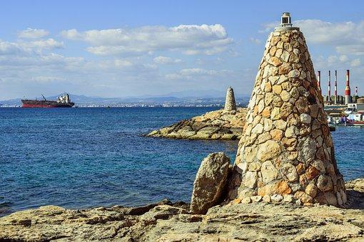 Beacon, Fishing Shelter, Sea, Harbor, Navigation