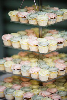 Cake, Cupcake, Party, Wedding Cake, Birthday Cake