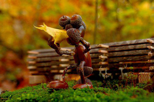 Smoke Pot, Nature, Wood, Forest, Figure, Funny, Brown