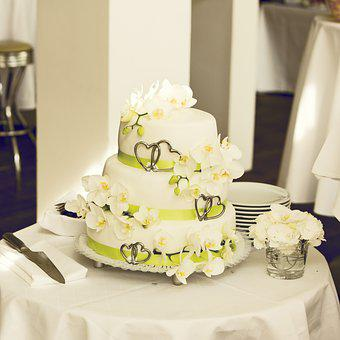 Cake, Wedding Cake, Wedding, Marry, Marriage, Decor