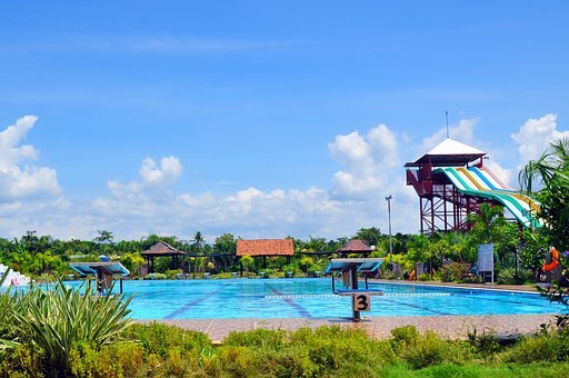 Tour, The Swimming Pool, Central Java