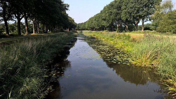 Almelo Nordhorn Canal, Channel, Water, Ditch, River
